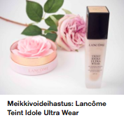 Lancome Teint Idole Ultra Wear kokemuksia