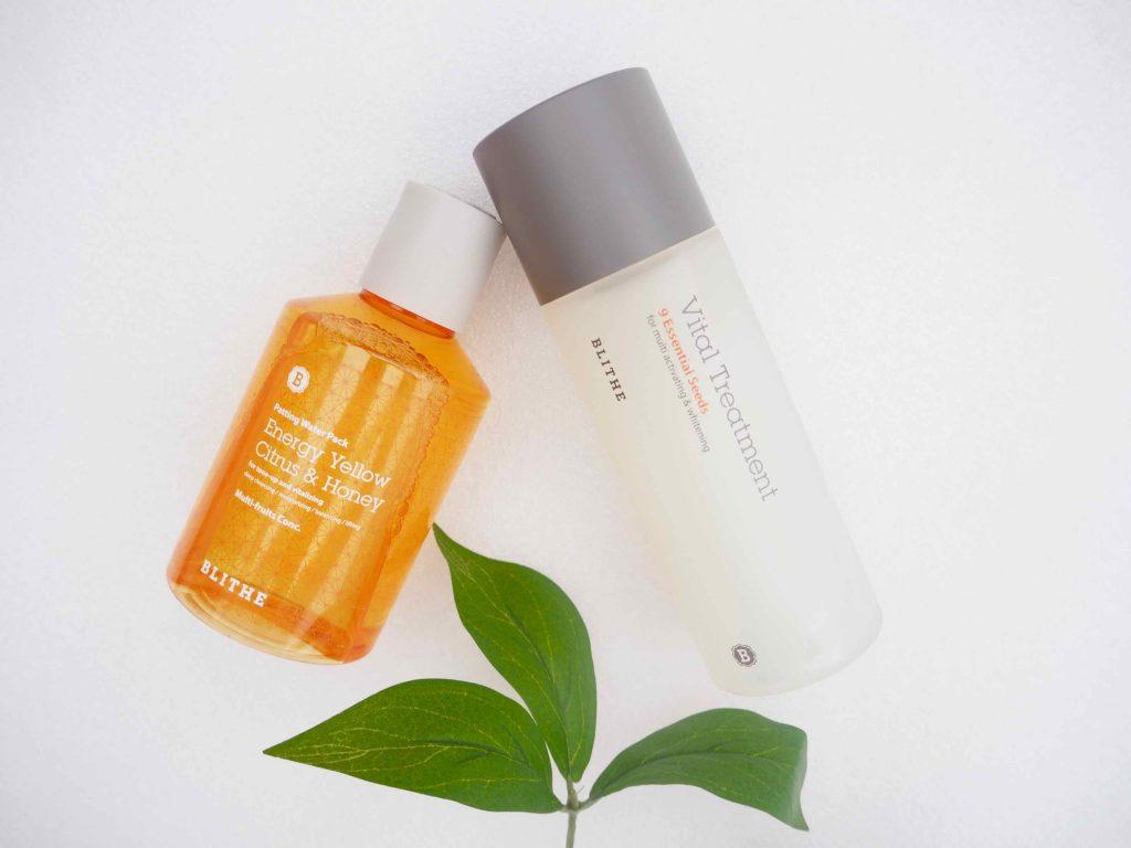Blithe ihonhoitotuotteet K-Beauty