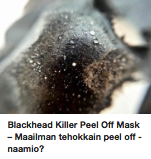 Blackhead Killer Mask kokemuksia