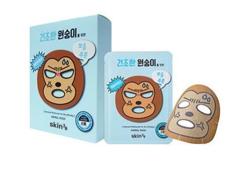 Skin79 Animal Mask, Dry Monkey