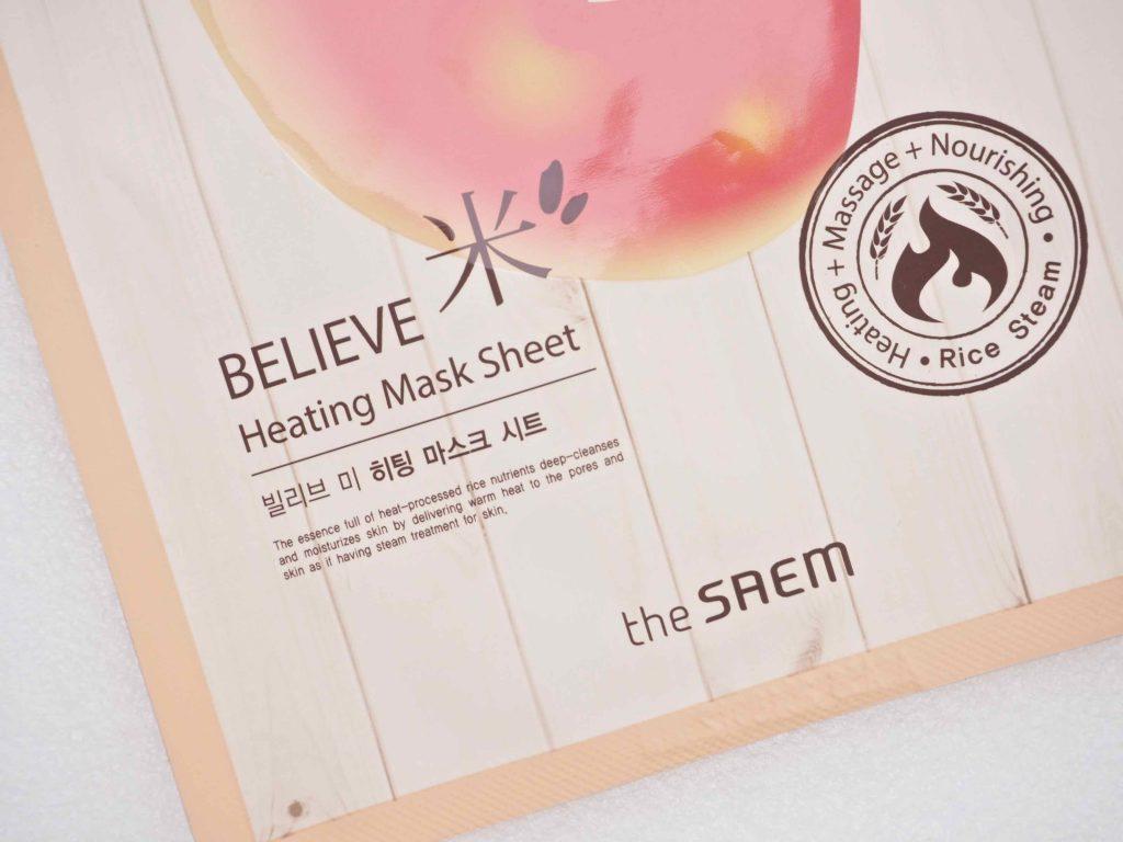 The Saem Believe Heating Mask Sheet