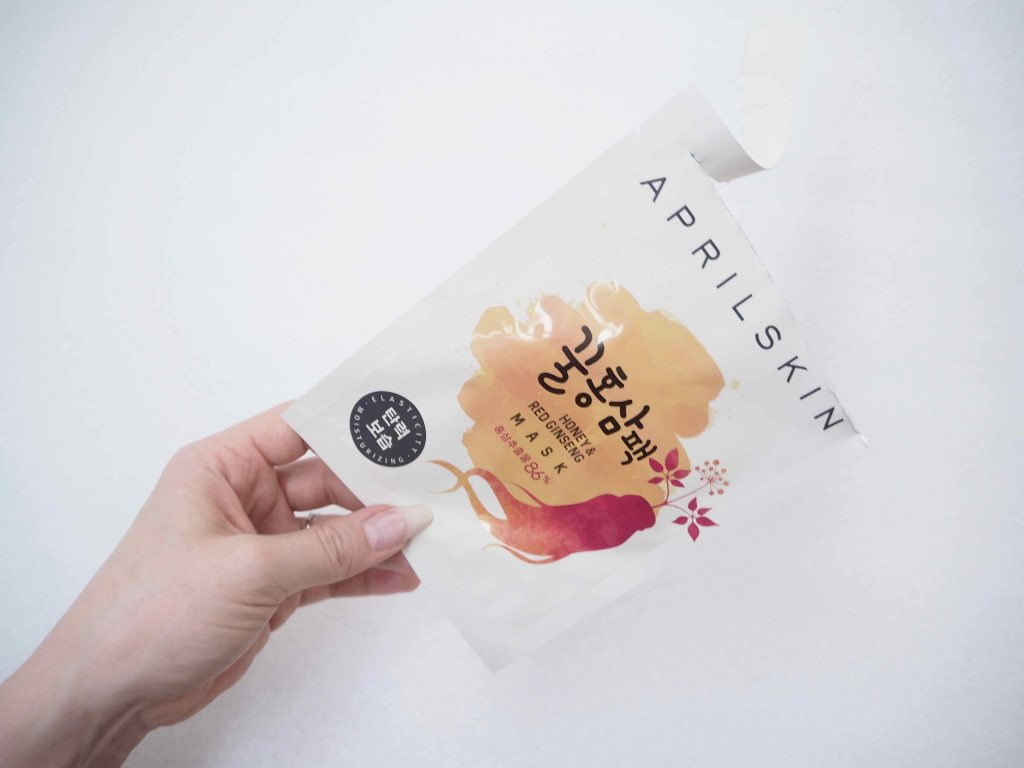 April Skin Honey Red Ginseng Mask