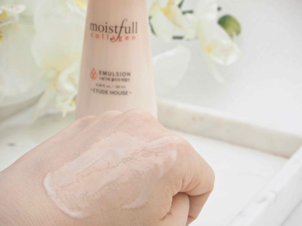 Etude House Moistfull Collagen Emulsion Ostolakossa Virve Vee