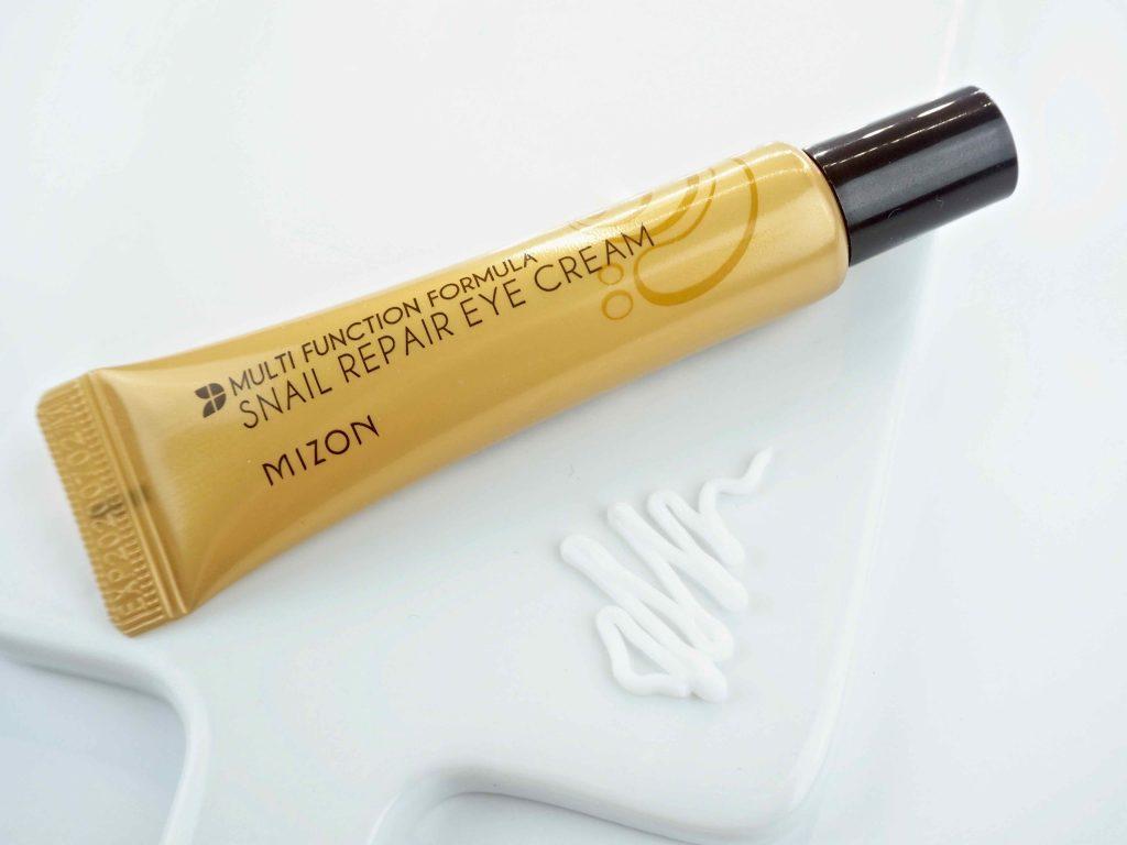 Ostolakossa Mizon Snail Repair Eye Cream silmänympärysvoide kokemuksia