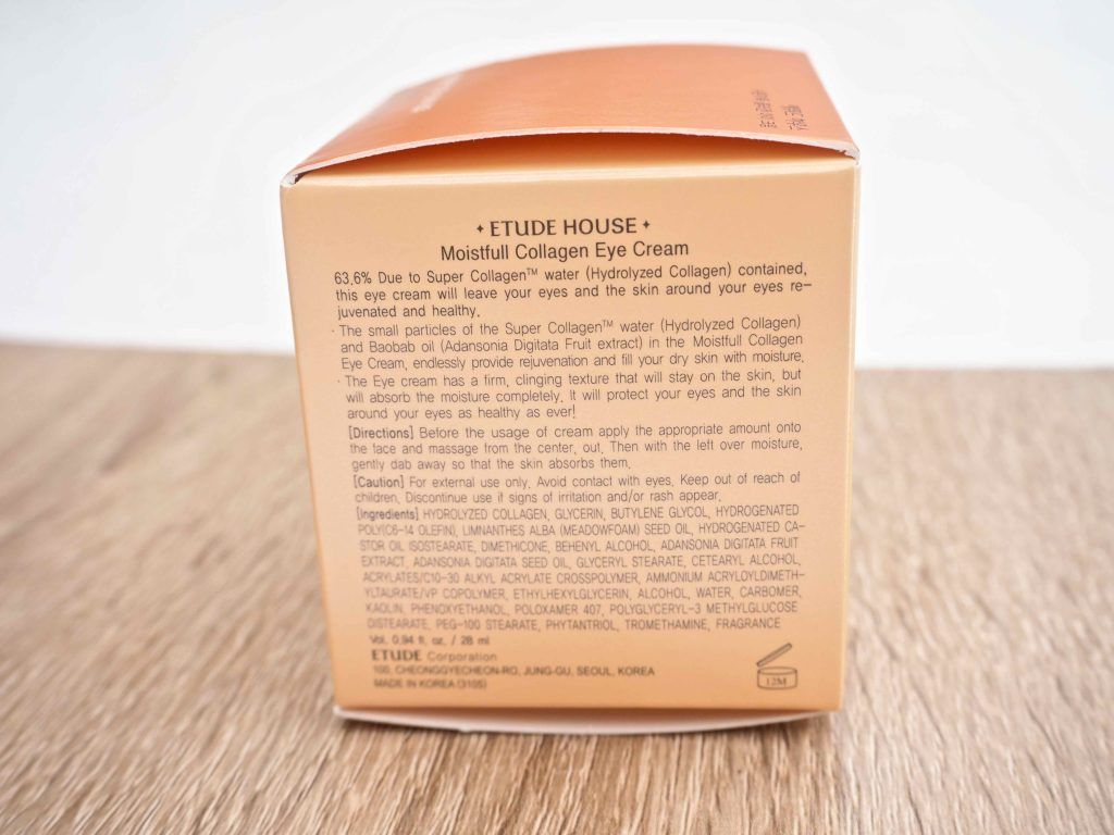 Etude House Moistfull Collagen Eye Cream Ostolakossa Virve Vee Kokemuksia