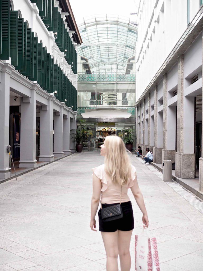 Ostolakossa Singapore kosmetiikka