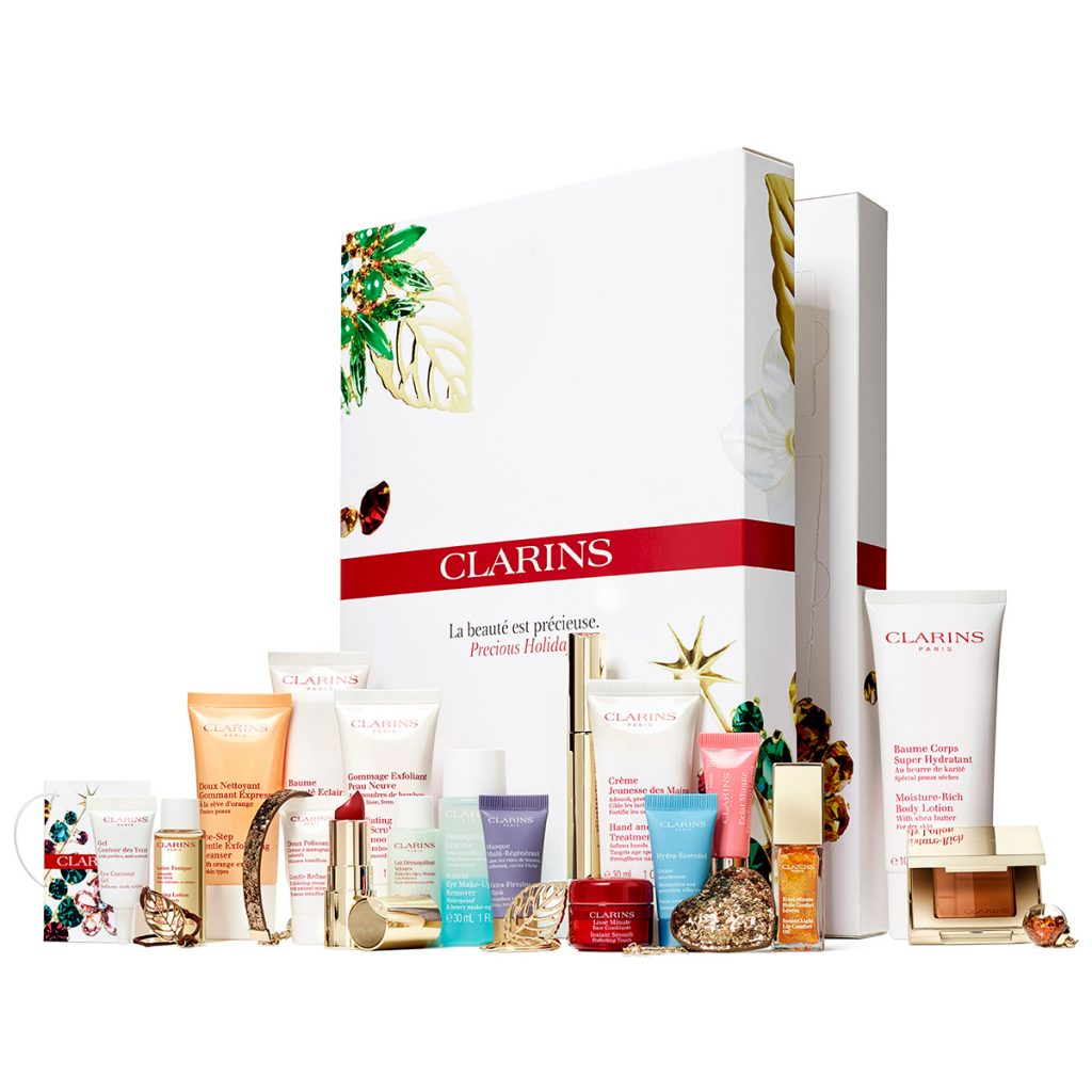 Clarins Precious Holiday Advent Calendar