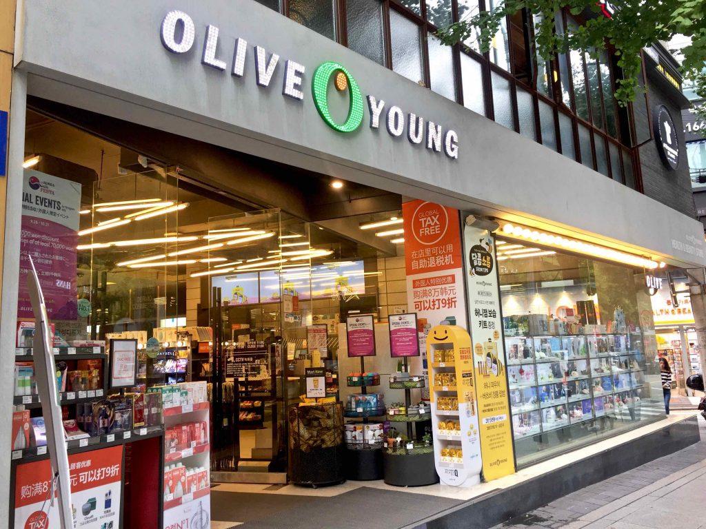 Garosu-Gil Cosmetic shopping Olive Young - 1
