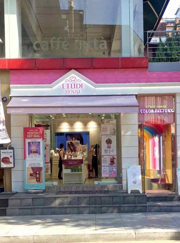Garosu-Gil Cosmetics Etude House - 1