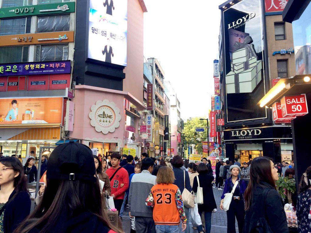 Ostolakossa Virve Etelä-Korea Soul - 1 (10)