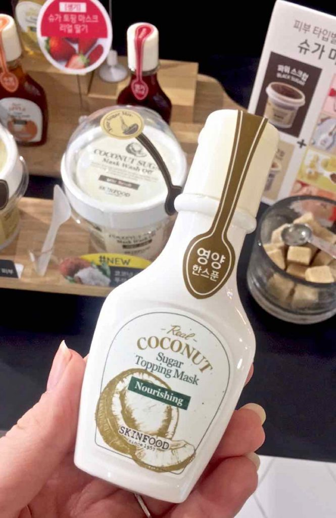 Skinfood Coconut Sugat Topping Mask - 1