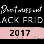 Black Friday tulee - no tottakai ollaan valmiita!