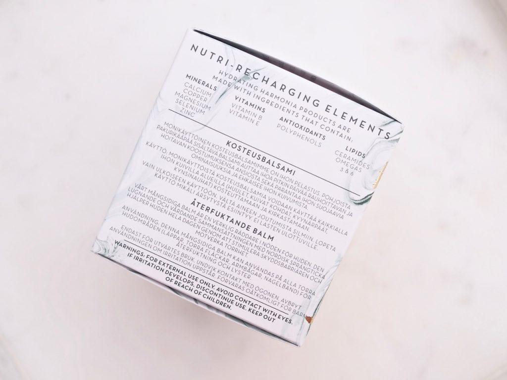 Lumene Harmonia Nutri-Recharging Skin Saviour Balm kosteusbalsami Ostolakossa Kokemuksia