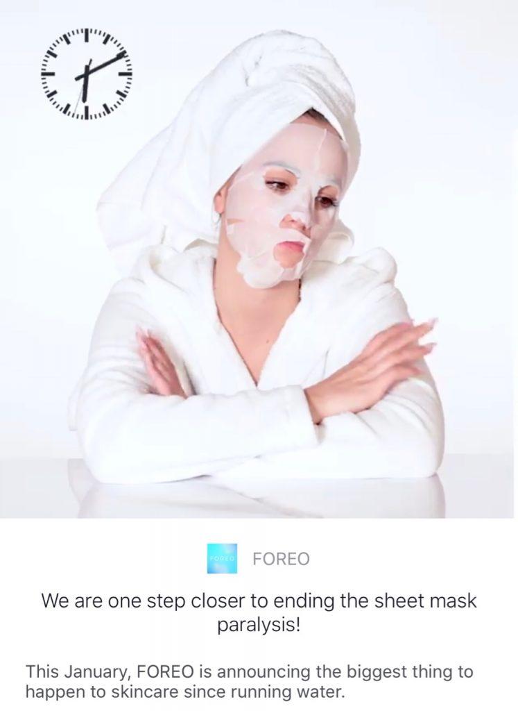 Foreo Sheet Mask Paralysis - 1