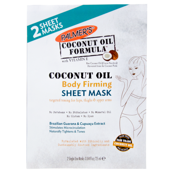 Palmer's Coconut Oil Body Firming Sheet Mask