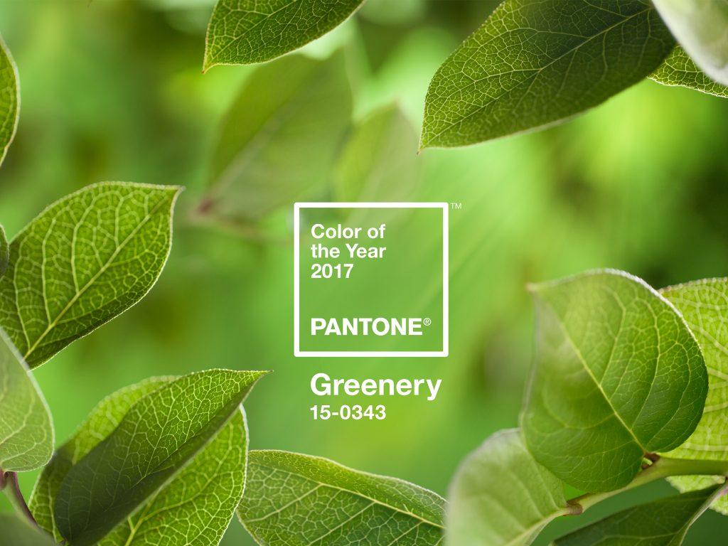 Pantone 2016 greenery