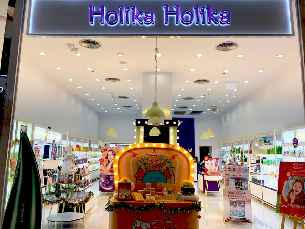 Holika Holika Bangkok Ostolakossa kosmetiikka - 1