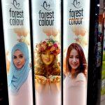 Huivilla vai ilman? Ajatuksia Kuala Lumpurin kosmetiikkamainonnasta