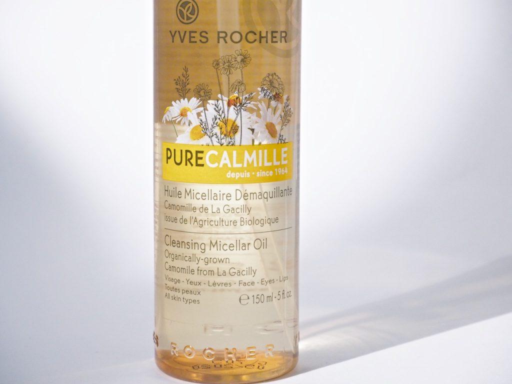 Yves Rocher Pure Camille Cleansing Micellar Oil puhdistusöljy Ostolakossa Virve Vee kokemuksia