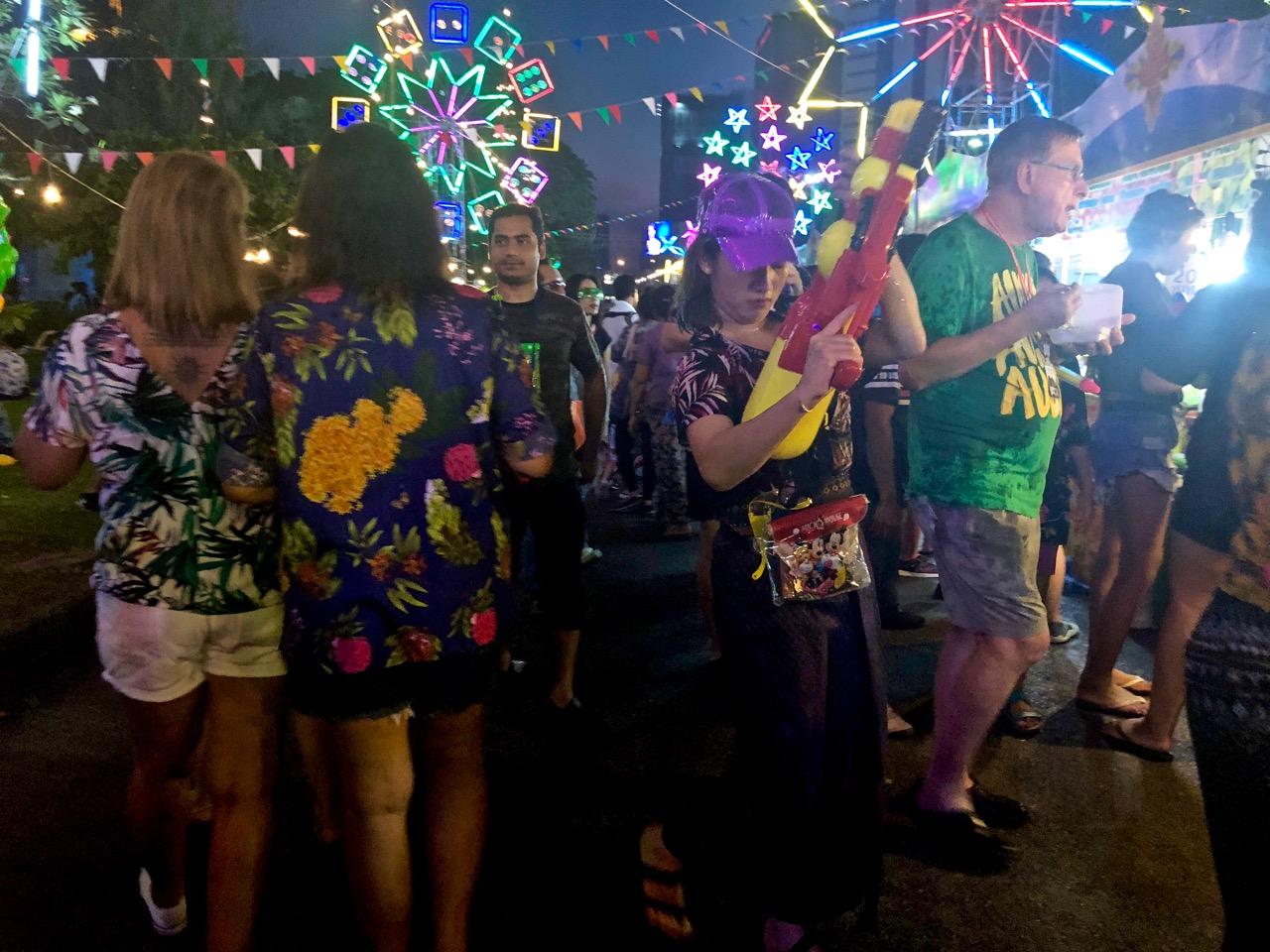 Bangkok songkran kokemuksia