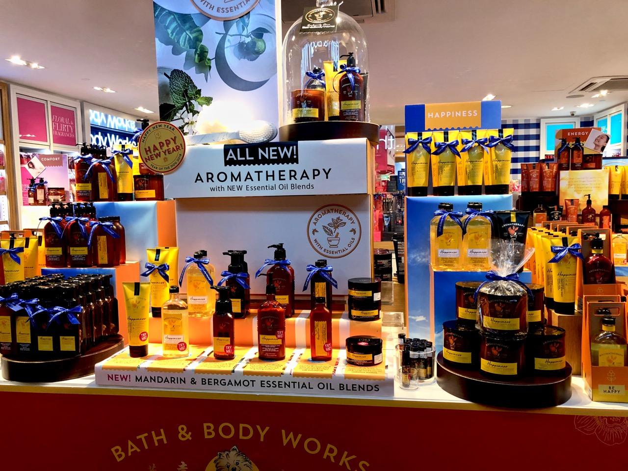 Bath & Body Works Tuotteet ja Myymälä