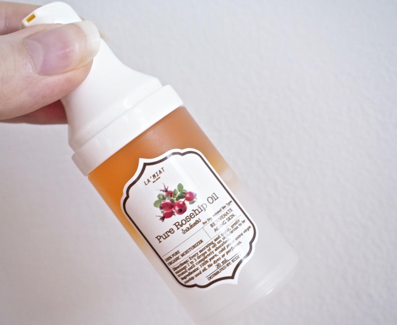 Ostolakossa Rosehip Oil Ruusunmarjaöljy kokemuksia - 1 (1)
