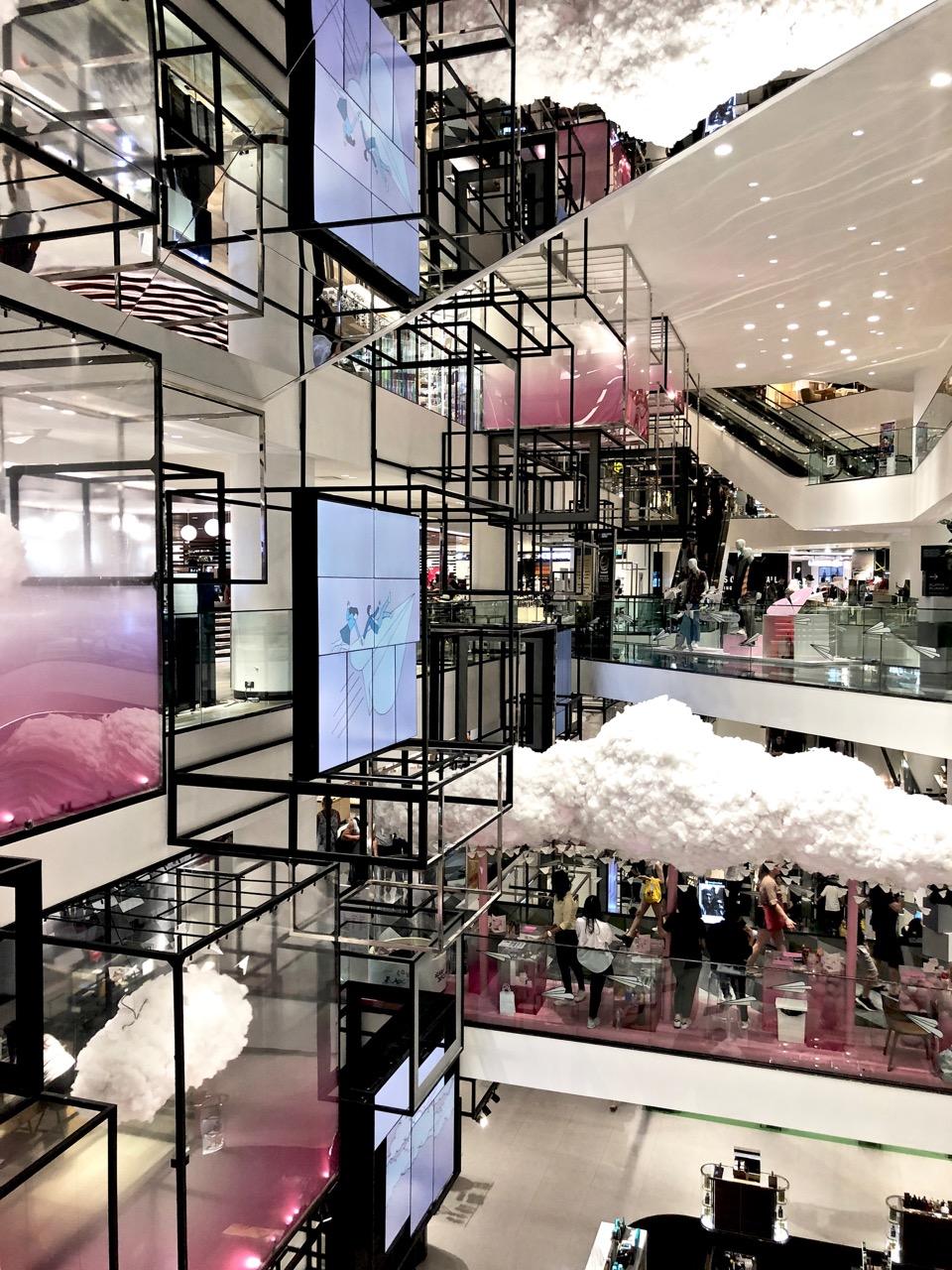 Siam Discovery Bangkok Ostolakossa shoppailu