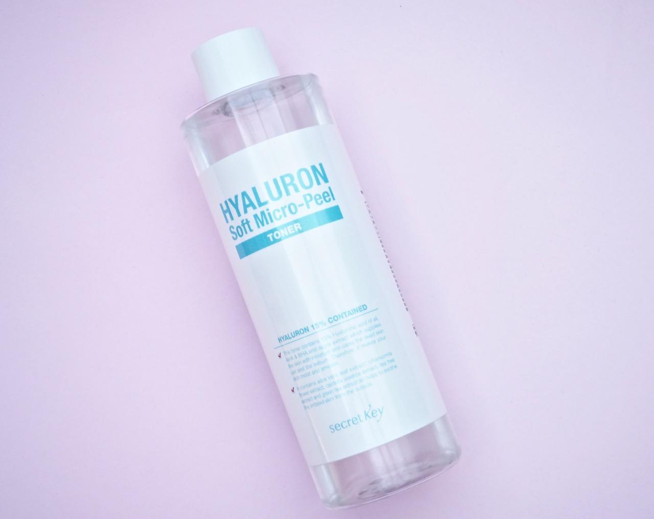 Secret Key Hyaluron Soft Micro-Peel Toner kasvovesi korealainen kokemuksia Ostolakossa Virve Vee
