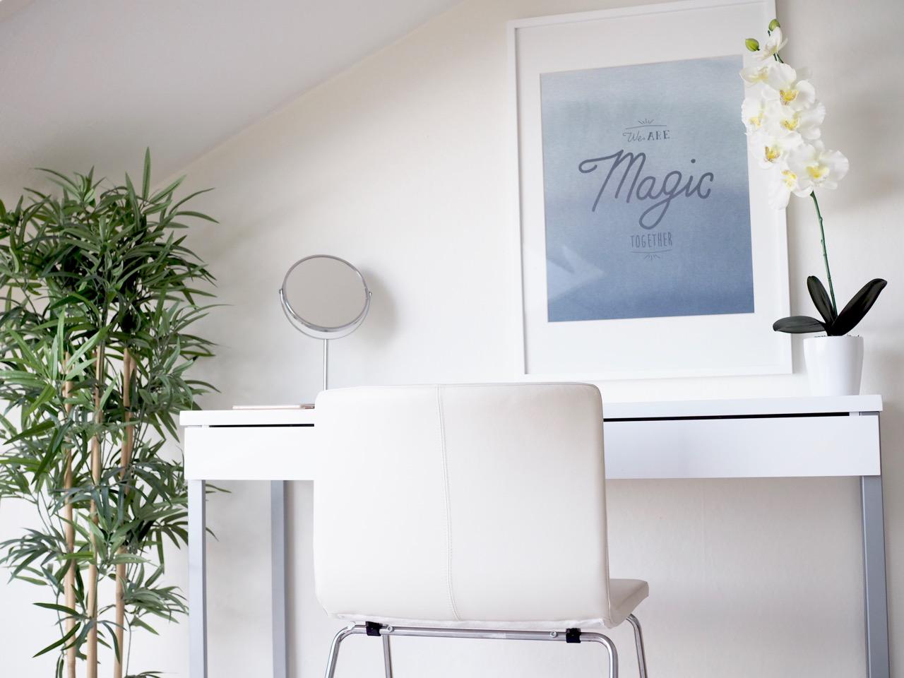 Ostolakossa Virve Fredman minimalismi