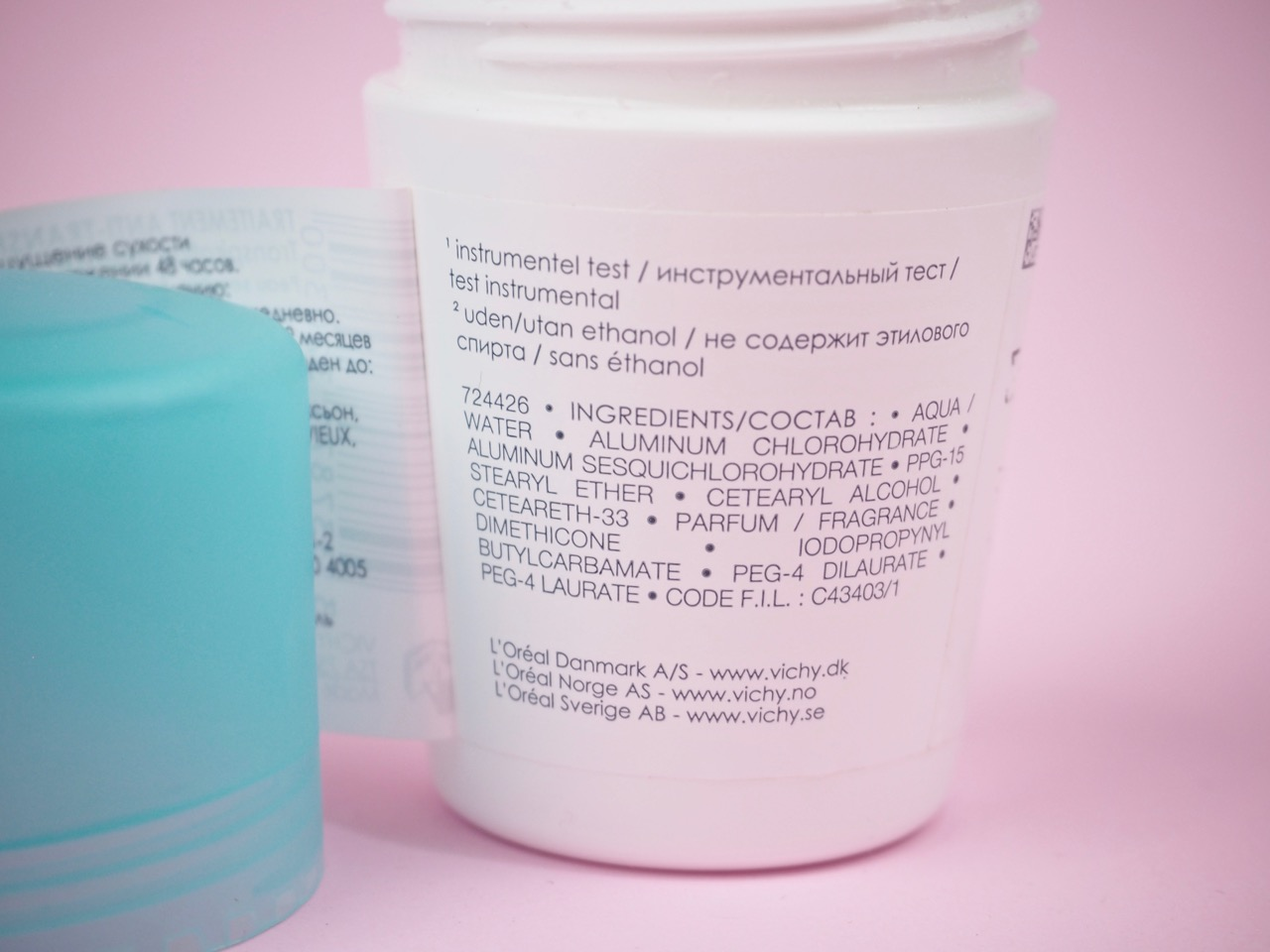 Vichy Antiperspirant Deodorant 48H antiperspirantti deodorantti kokemuksia Ostolakossa Virve Vee