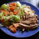 Revittyä possua ihanan itämaisittain (pulled pork) ja kotitekoinen aioli