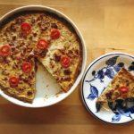 THE tacopiirakka ja kotitekoinen tacomauste