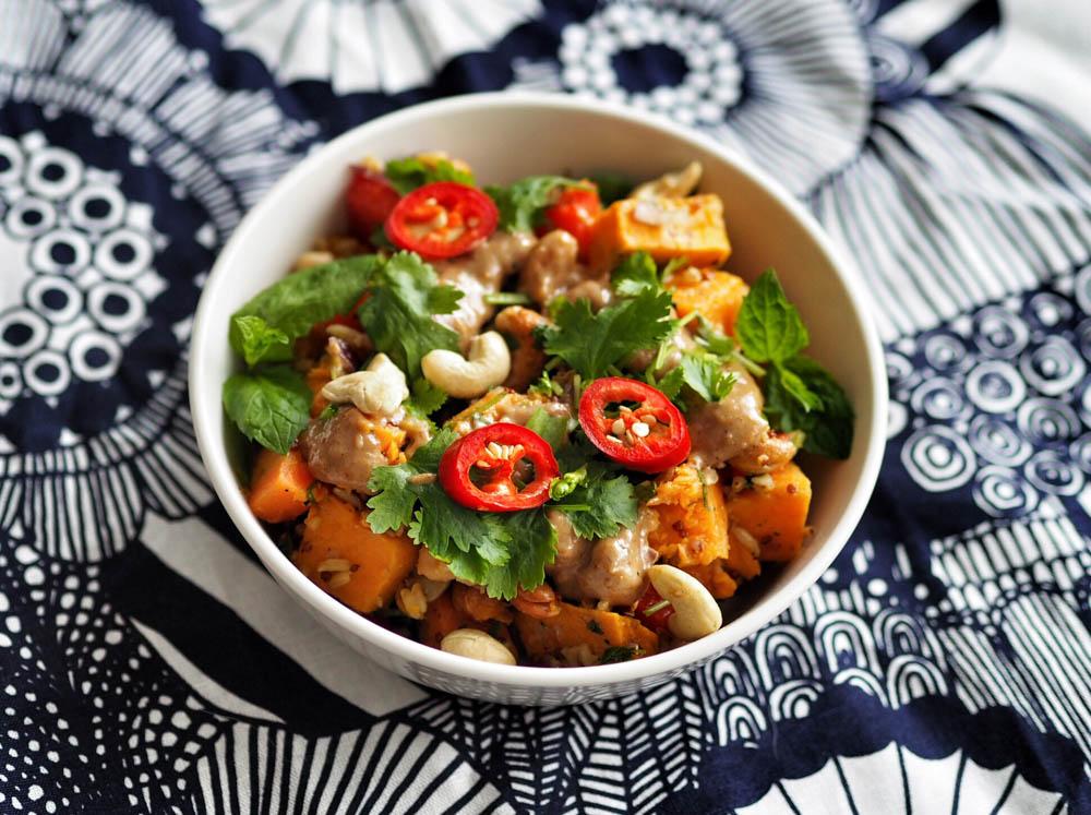 marokkolainen salaatti