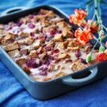 Leipävanukas eli bread pudding voi olla seuraava trendiruoka