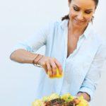 Marinoitu lohi kesäkurpitsapedillä (VHH,maidoton,gluteeniton)