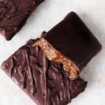 Toffeetäytteiset suklaapatukat (vegaani ja gluteeniton)