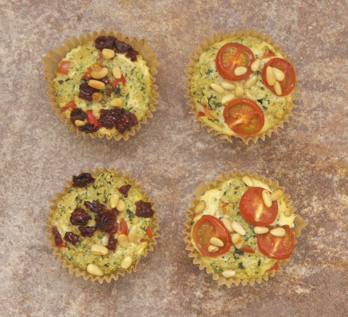 kvinoamuffinit