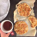 Helppoa leivontaa; teeleivät kahdella tapaa