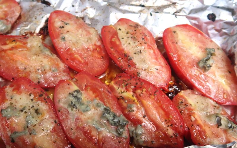 tomaattia grillissä