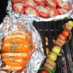 Tomaattia grillissä x 4