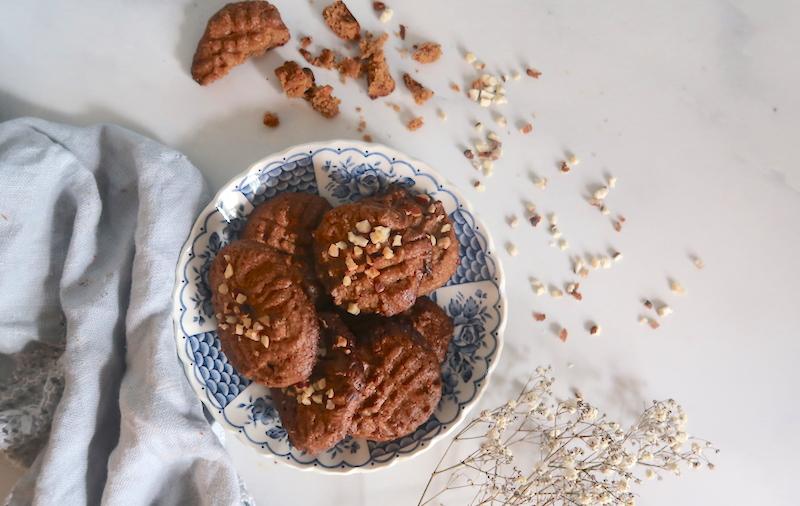 Maapähkinävoikeksit ilman jauhoja