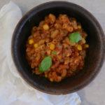 10 minuutin kasvis-makaronipata