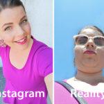 Instagram vs todellisuus