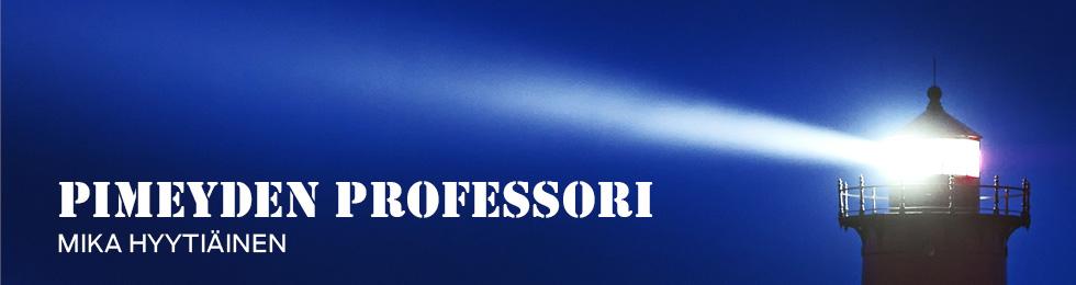 Pimeyden professori