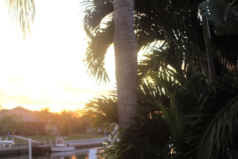 auringonlaskussa