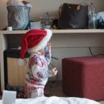 Voihan joulua toivottaa paljailla perskannikoillakin!