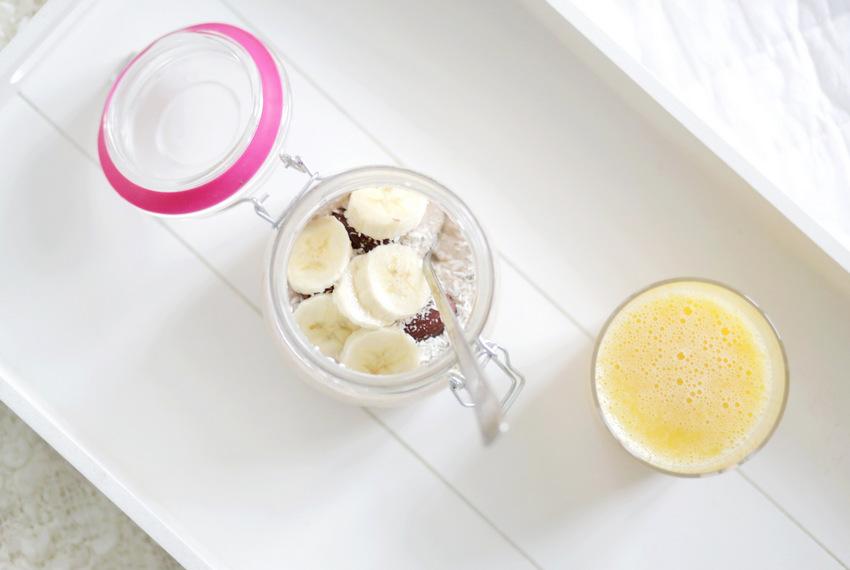 Herkullinen aamupalavinkki - Overnight oat