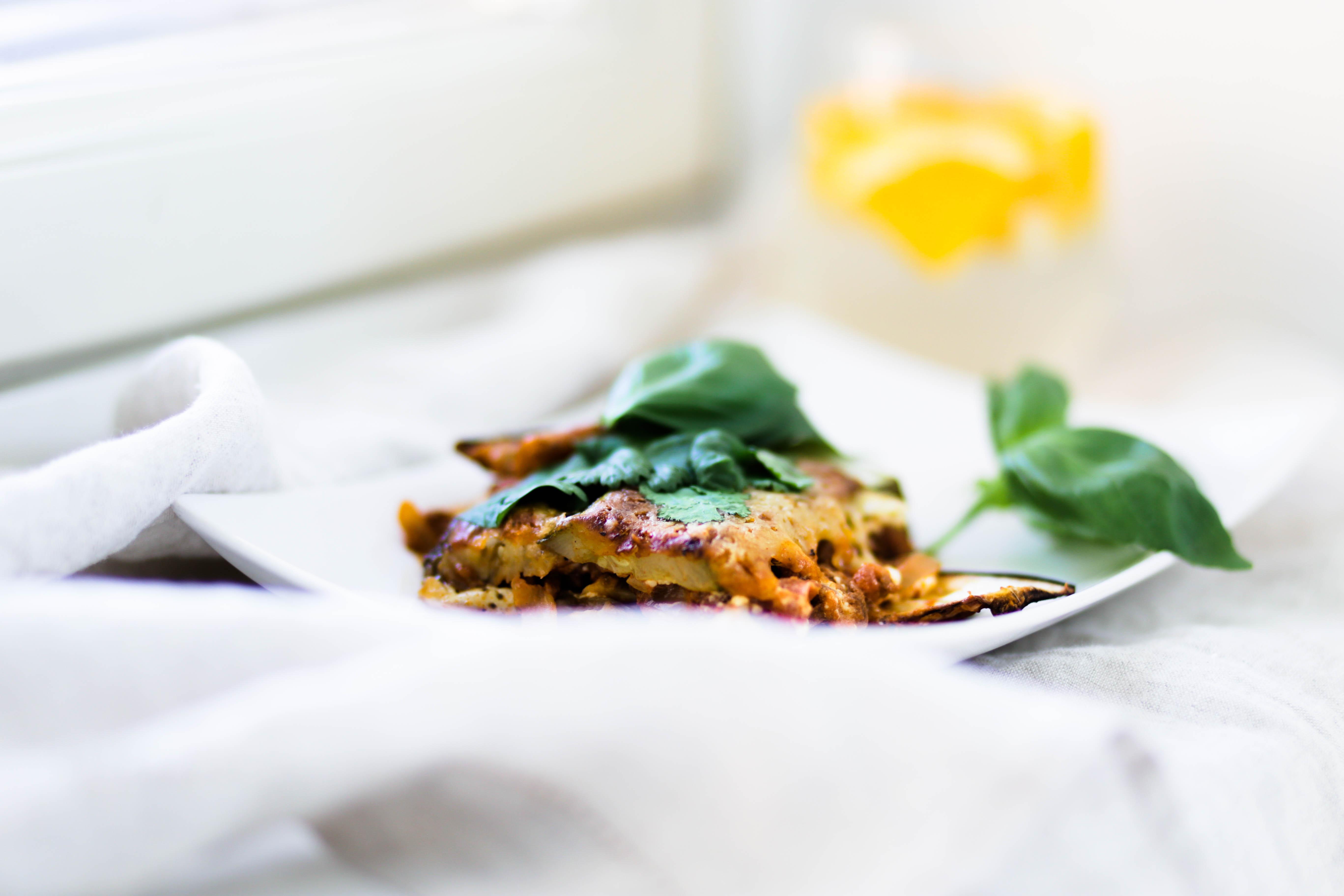 Terveellisempi variaatio lasagnesta