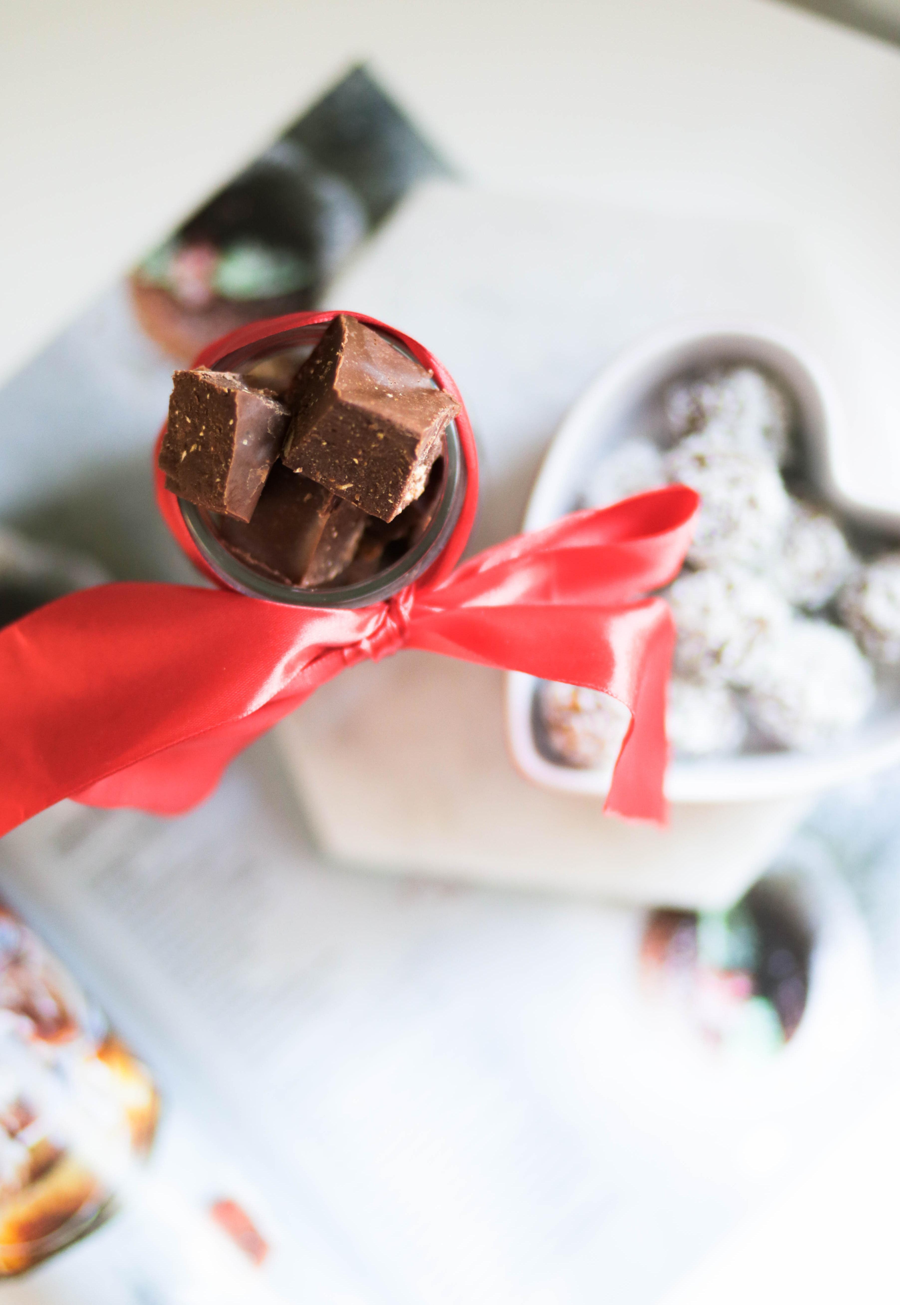 Jouluinen suklaafudge