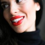Täydellisen punainen huulipuna